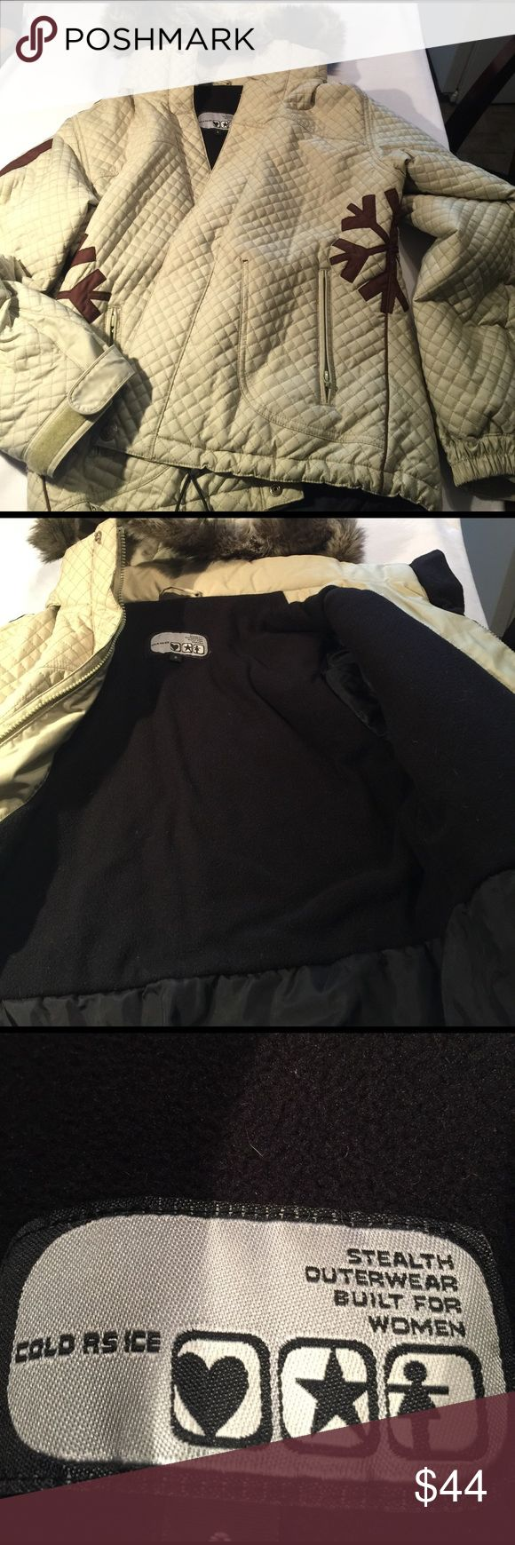 Cold As Ice Brand Women's Ski Snow Jacket Cold As Ice Brand Women's Ski Snow Boarding Jacket One time use excellent condition, firm on price Cold As Ice Jackets & Coats Utility Jackets
