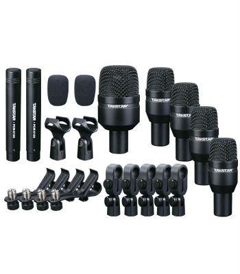Hot Selling Takstar DMS-D7 Drum Set Series Black Series Drum Kit 7 Microphones drum microphone kits free shipping $349.99