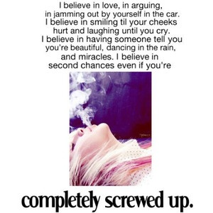 I believe....Clever Quotes, Inspiration, Judges, I Believe In Second Chances, New Life, Life Mottos, Quotable, Favorite Quotes, Complete Screw