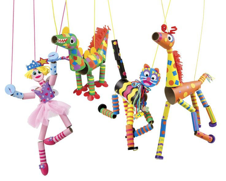 adorable marionette puppets – recycled materials | Kiddie … – school