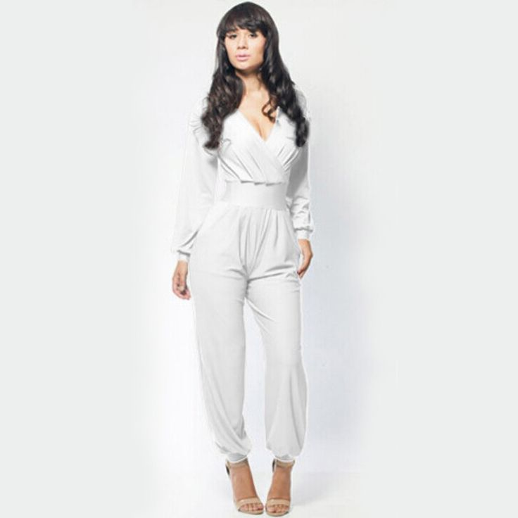Sexy Night Club Wear Jumpsuit Summer Black Rompers Party Womens Casual Jumpsuits Plus Size New 2016 Autumn Fashion Playsuit