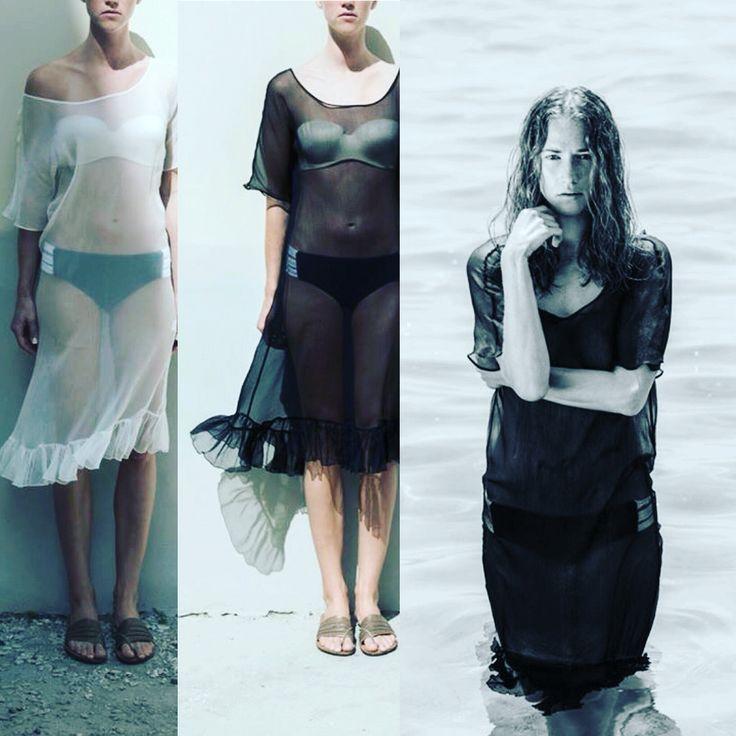 Summer 2016  Silk Caftan by  Cristina Karekla Collection