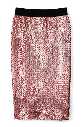 not going to love sequins forever, which is why this affordable skirt is perfect