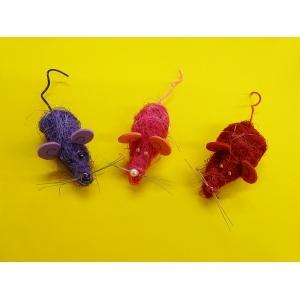 Mäuse basteln mit Kindern   interessante Bastelanleitung für Erwachsene und Kinder
