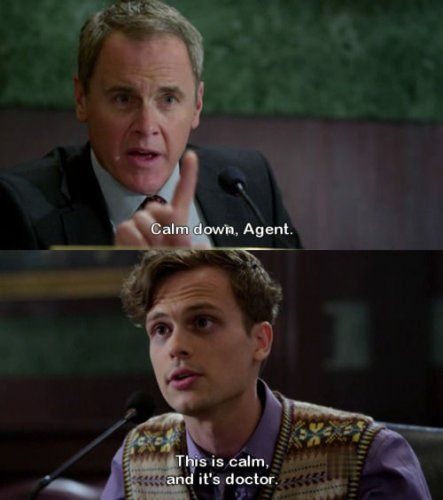 Criminal Minds quotes | Criminal Minds Quotes.... I <3 Reid!