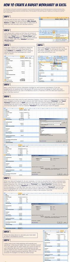 The 25+ best Excel budget ideas on Pinterest Budget spreadsheet - church budget template example