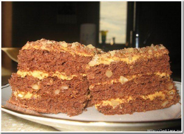 Торт золотой трюфель