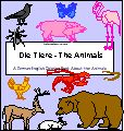 Animals in German: A Book to Print - EnchantedLearning.com