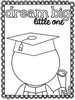 DREAM BIG LITTLE ONE {GRADUATION FREEBIE IN ENGLISH AND SPANISH} - TeachersPayTeachers.com