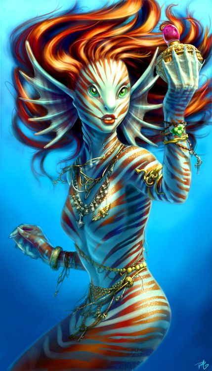 Ariel the little Mermaid by ~figmentalist