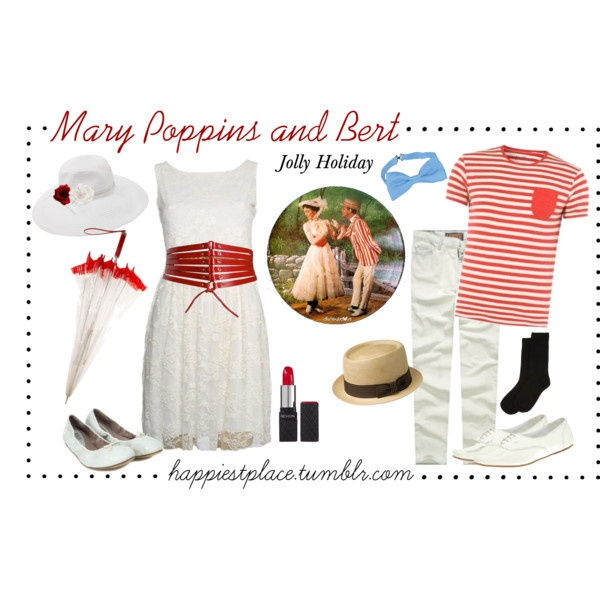 Mary & Bert Jolly Holiday outfits