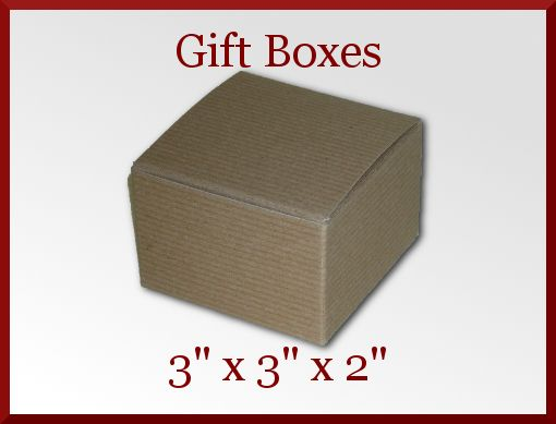 25 Small Brown Kraft Pinstripe Jewelry Craft Soap Gift Box 3 x 3 x 2 On Sale at CDVDMart