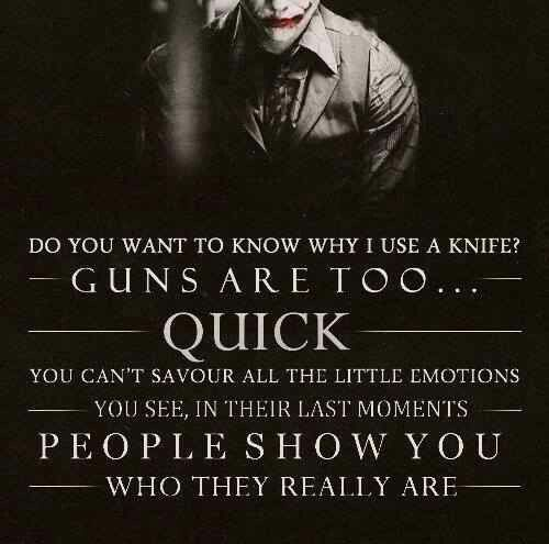 Dark Knight... Heath Ledger blew this out of the water