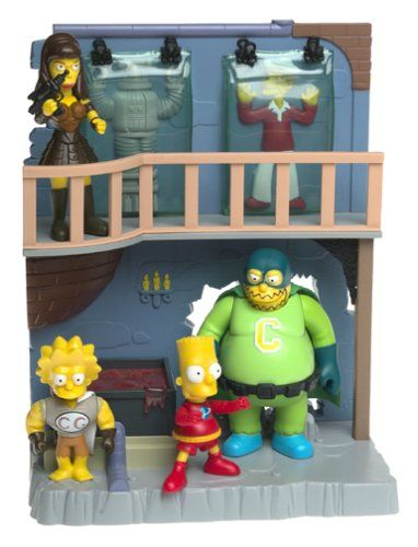 The Simpsons Toys R Us Exclusive Playset Treehouse of Horror 4 Collector's Lair The Simpsons