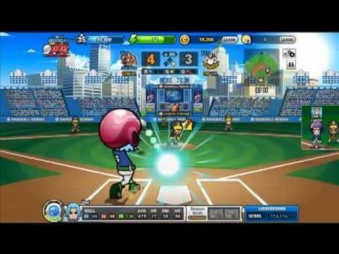 Baseball Heroes Gameplay, San Diego vs Pittsbrugh