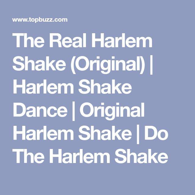 The Real Harlem Shake (Original) | Harlem Shake Dance | Original Harlem Shake | Do The Harlem Shake