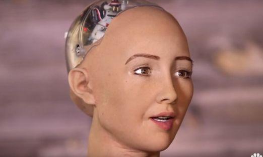 """Sophia, la robot que """"promete"""" destruir la humanidad"""
