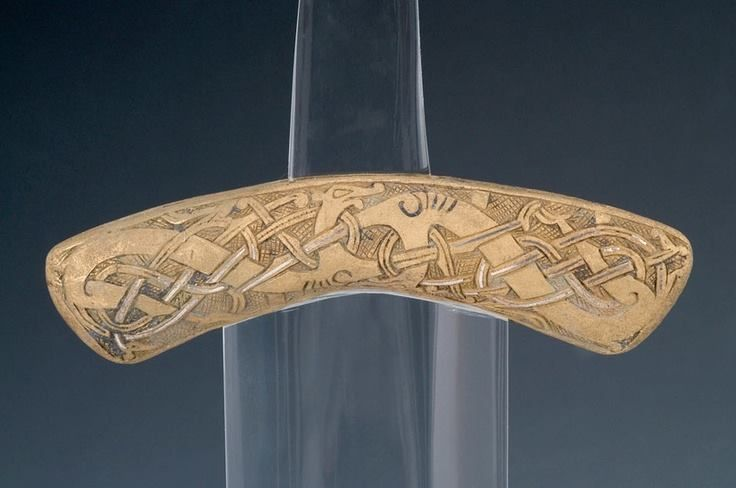 The Smalls Viking Sword of Wales Never completely conquered by Vikings, Wales nonetheless was a popular site for raids, especially from the Vikings of Ireland. One beautiful example of Viking activity and late Viking art in Wales is known as the Smalls Sword, named for the spot off the Welsh coast where it was found. The intricately decorated sword guard is currently housed at Amgueddfa Cymru, the National Museum of Wales in Cardiff. the lower guard of a Viking sword, is dated to about AD…