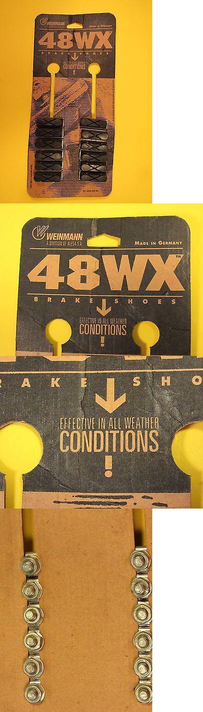 Brake Pads 177806: Vintage Weinmann 6 Pairs Nos 48Wx Brake Pad Shoe On Original Card German Made -> BUY IT NOW ONLY: $48 on eBay!