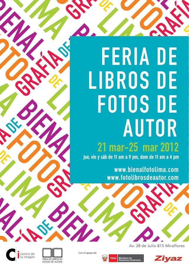 Libros de autor debido a la Bienal de fotografía en el Centro de la Imagen