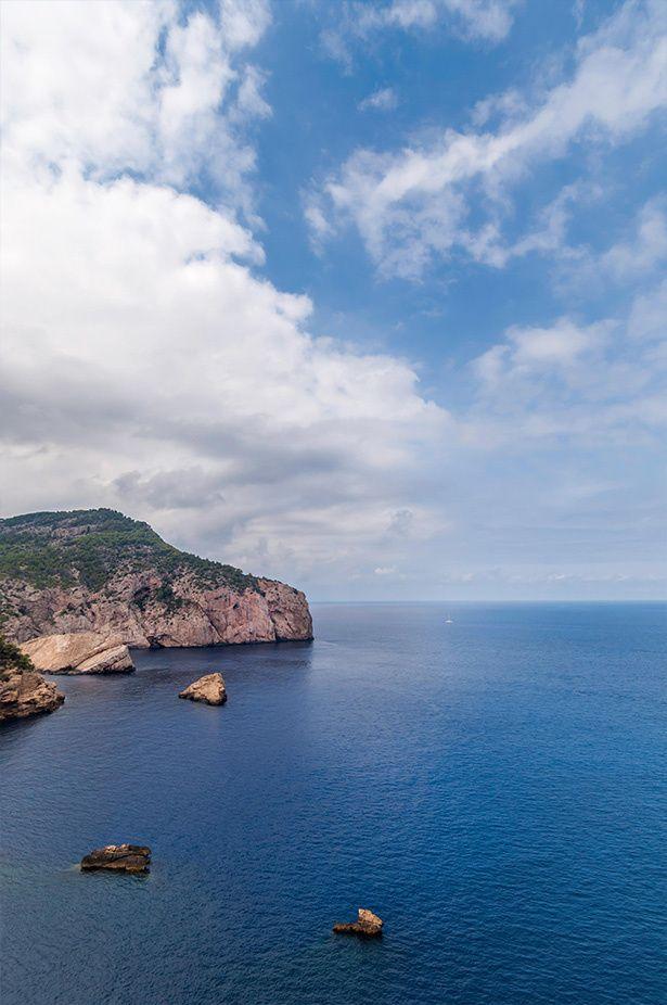 Cala d'Es Portixol, Ibiza - Playas escondidas y perfectas en España