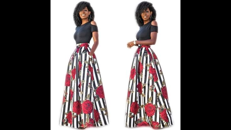 African Attire Dresses and Skirts: Best 2018 Trendy Collection of #Afric...