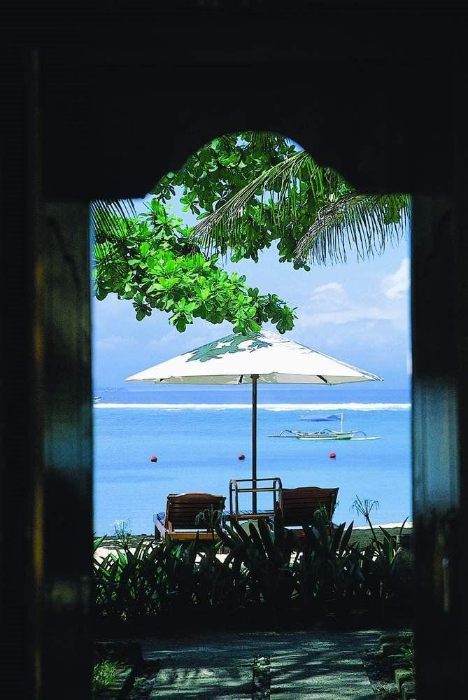 A Vista to Beach of Melia Bali Hotel