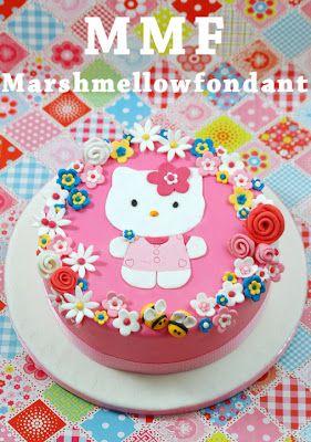 "Kessy's Pink Sugar: ""MMF - MarshMellowFondant"" – Schritt für Schritt Anleitung in Bildern"