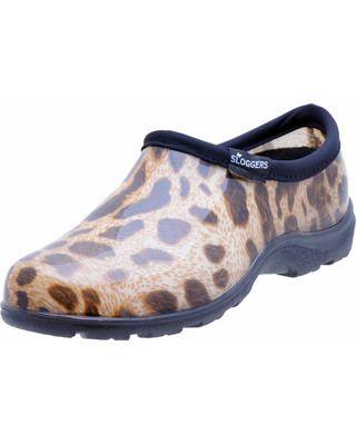 Stylish garden shoes