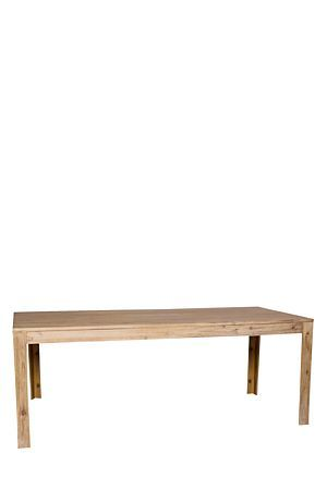 """Made from solid Acacia wood with a wire brushed finish, the Kalahari range complements a classic room set. The Kalahari Dining table is a generous eight seater and a must have for the classic customer.<div class=""""pdpDescContent""""><BR /><b class=""""pdpDesc"""">Dimensions:</b><BR />L200xW90xH76 cm<BR /><BR /><div><span class=""""pdpDescCollapsible expand"""" title=""""Expand Cleaning and Care"""">Cleaning and Care</span><div class=""""pdpDescContent"""" style=""""display:none;""""><ul><li> Hardwood must be treated with oil…"""