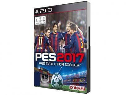 Pro Evolution Soccer 2017 para PS3 - Konami com as melhores condições você encontra no Magazine Elmisilva. Confira!
