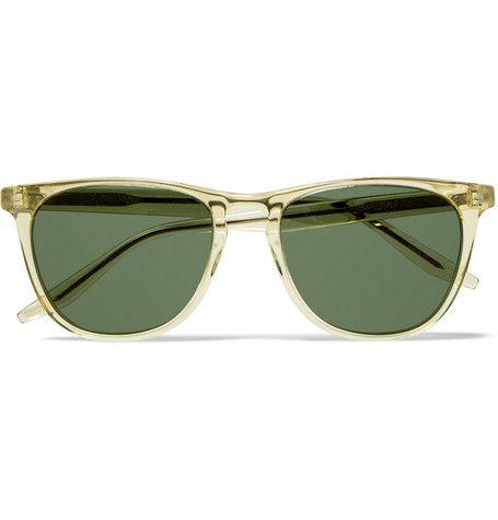 Barton Perreira Tuco Square-Frame Acetate Polarised Sunglasses