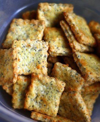 Parmesan Cheddar Crackers