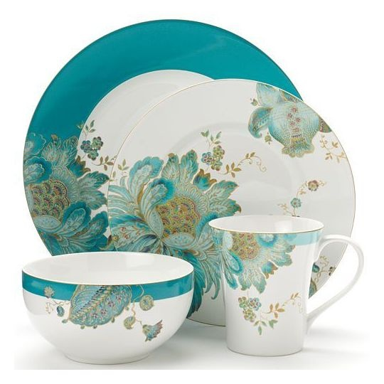 222 fifth eliza teal 16 pc dinnerware set dinnerware for 222 fifth dinnerware