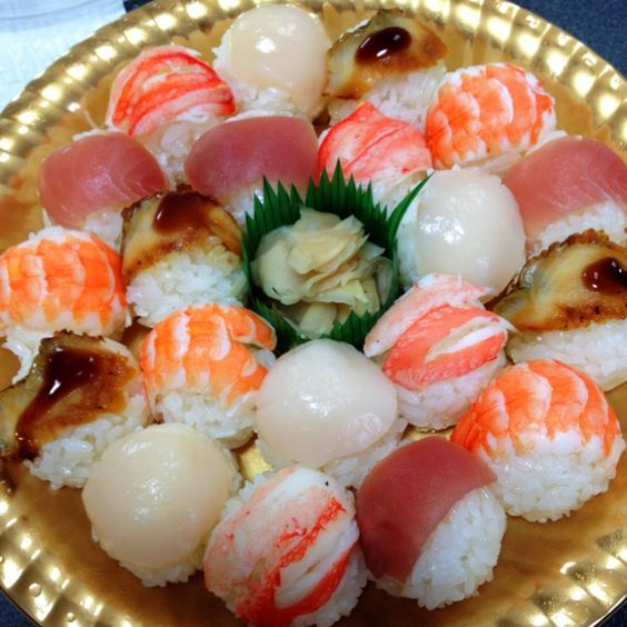 Nice selection of Temari sushi balls!