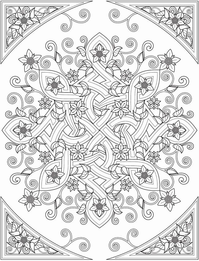 Creative Coloring Books Elegant Wel E To Dover Publications From Creative Haven Deluxe Edition Celt In 2020 Celtic Coloring Mandala Coloring Pages Celtic Coloring Book