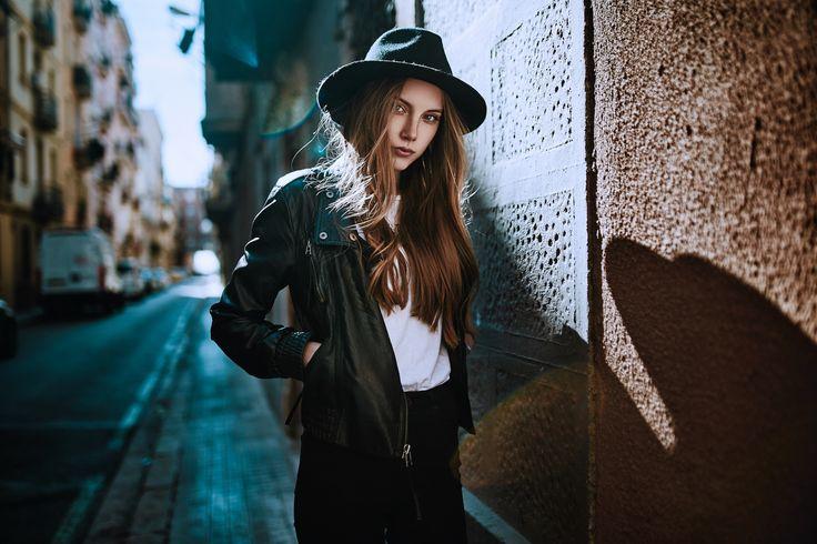 martin strauss photography mahsa - Masha Bashinora at Traffic Models Barcelona Make-Up by Anja Drown
