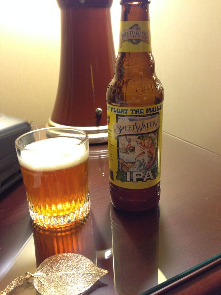 Sweetwater IPA- Amazing! (fruitier than most IPA's)