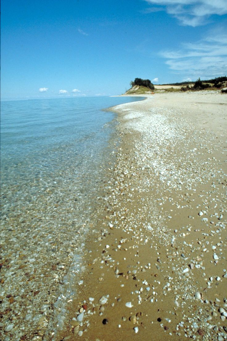 Lake Michigan beach, Frankfort, Michigan / Love the Frankfort area......
