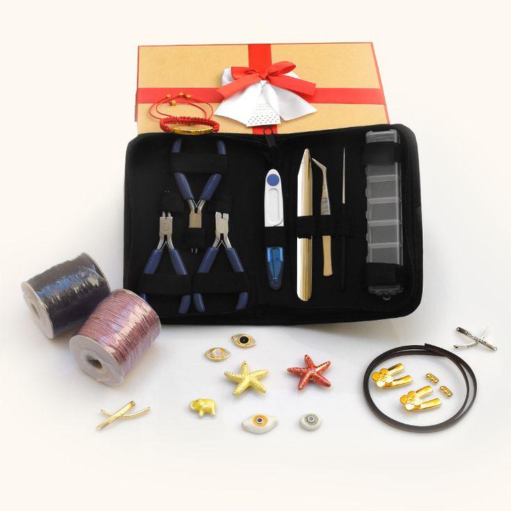 Super Διαγωνισμός! Πάρε μέρος για να κερδίσεις ένα ολοκληρωμένο set εργαλειών και υλικών για κατασκευή κοσμημάτων.