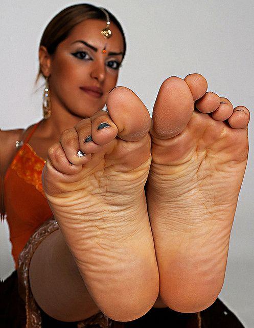 sexy indian female feet