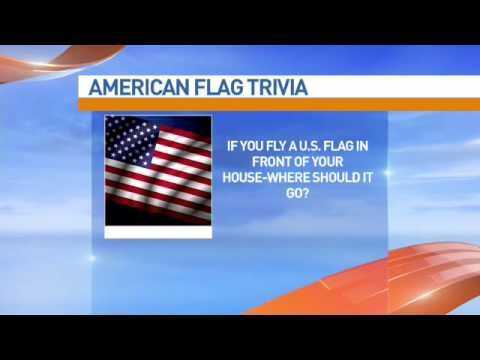 Gary Biggs talks flag protocol for the 4th of July