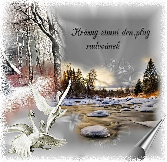 Zima - (ráno,den ,večer) « Rubrika | OBRÁZKY PRO VÁS