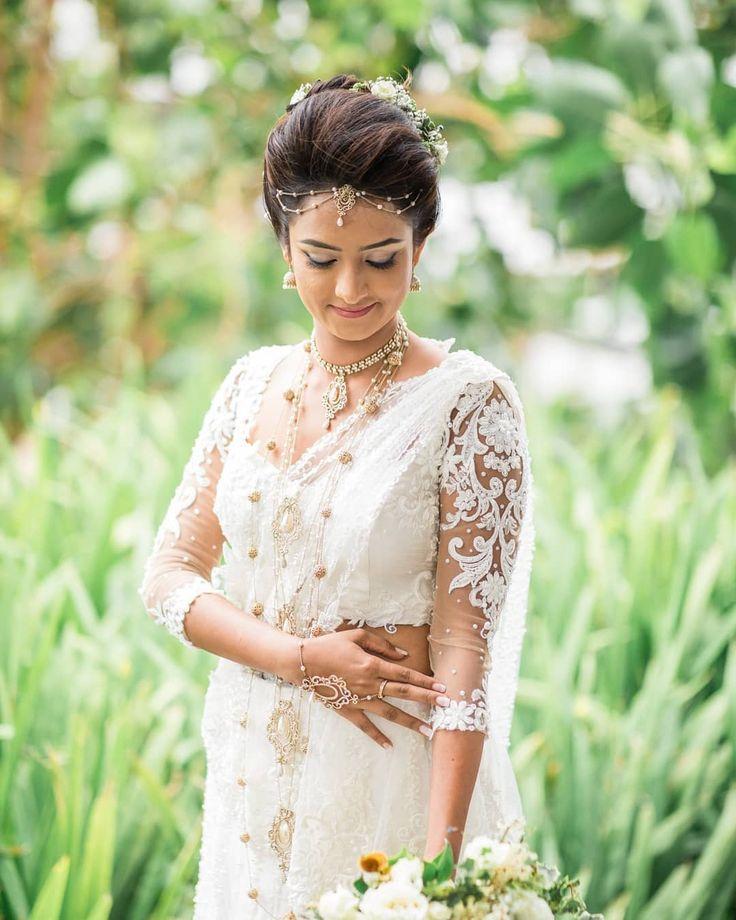 "Wedding Hairstyle In Sri Lanka: Purnima Abeyratne Inspirations On Instagram: ""Gorgeous"