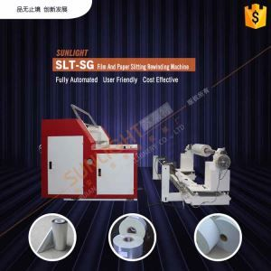 Slitting Services Kraft Back Recycle Paper Reel Roll Precision Slitting Slitter Cutter Machine Slit Paper