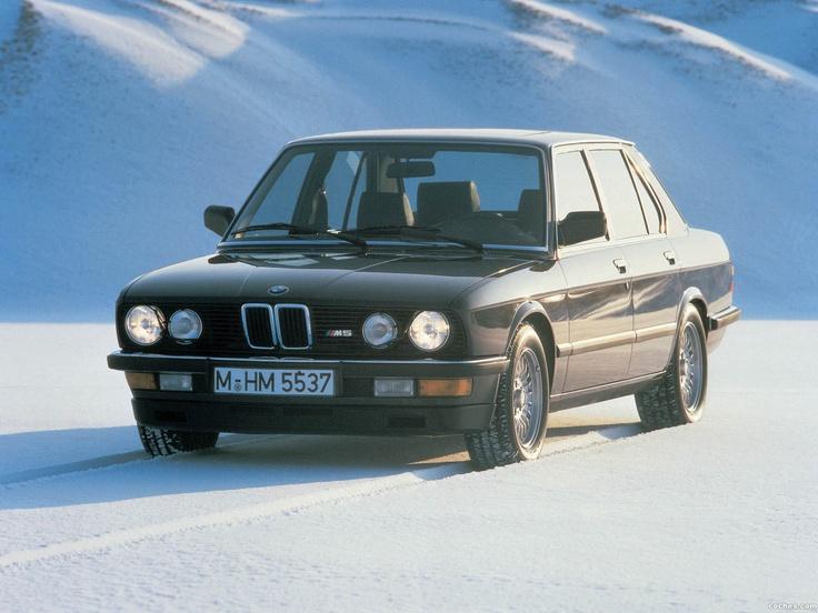 BMW M5 E28 1985 1987
