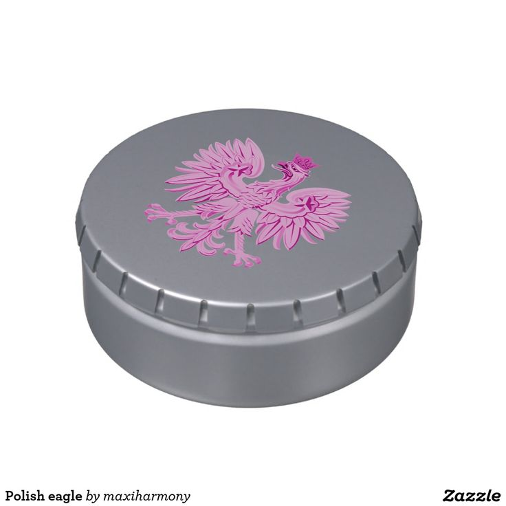Polish eagle jelly belly tins