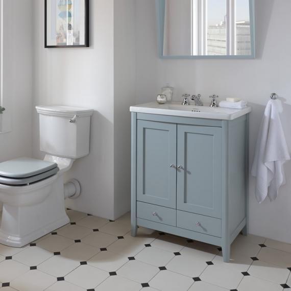 Imperial Radcliffe Esteem Vanity Unit Basin Henley Blue Bathroom Units Victorian Bathroom Vanity Units
