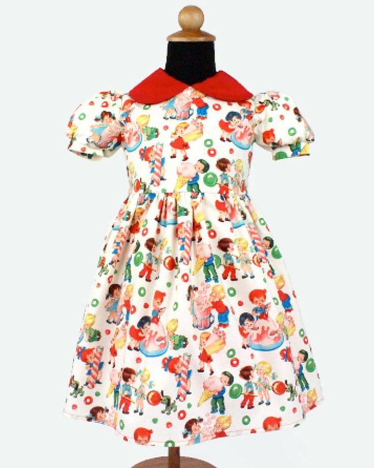 Retro Candyland Dress – Bump & Bunny