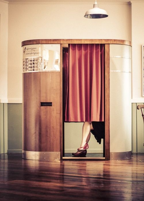 Luck Booth - vintage photo booth for hire in Nelson!
